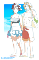 Summer Lovers by Bitter-Cherry