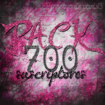 Pack 7OO subs by PariisEditions