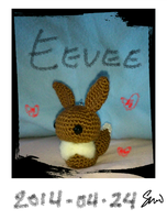 Eevee by Spkmw