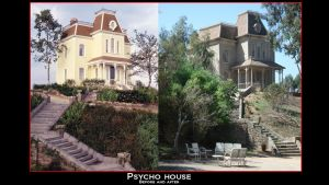 Psycho house before and after by Balsavor