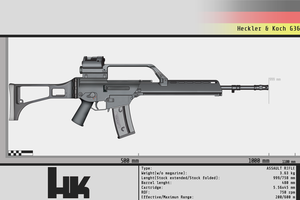 Heckler and Koch G36 by Gasteiz