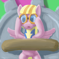 Pink pony by odooee
