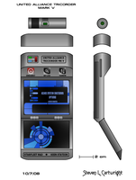 UA Tricorder MK V by whitedragon