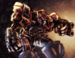 Transformers Armada Optimus by afrosol