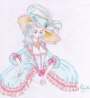 Versailles fashion by IslaAntonello