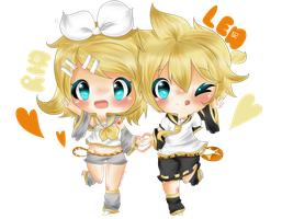 Kagamines 6 by TriSarahTopss