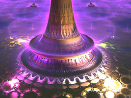 The base of the dream tower by veldor60