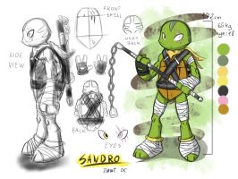 Sandro - New TMNT OC by AR-ameth