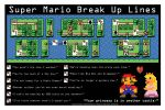 Super Mario break up lines by GreenFoxStudio