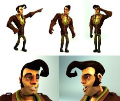 Pedro DiMarco 3D by maeshanne
