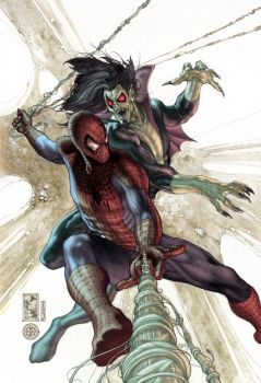 Am spiderman 622 cover color by simonebianchi