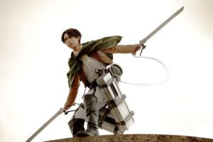 Captain Levi -Attack on Titan- by YUZU-0u0
