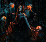 Lady of the Dead by valeskamoura
