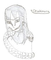 Orochimaru Doodle by QweXTheXEccentric