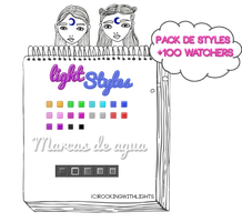 PACK DE STYLES +1OO WATCHERS by RockingWithLights