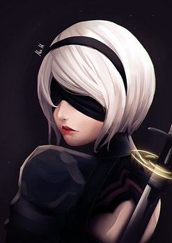 2B Looking Back by Massi74