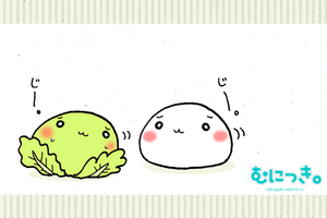 A cabbage and muni by wachachai