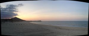 Panoramic Sunset. by The-Great-Luigi