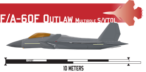 F/A-60F Outlaw S/VTOL Fighter by Afterskies