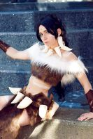 Nidalee Costume 6 PAX 2011 by GinRyu