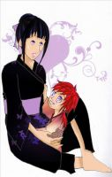 Hinata and her child by desiderata-girl