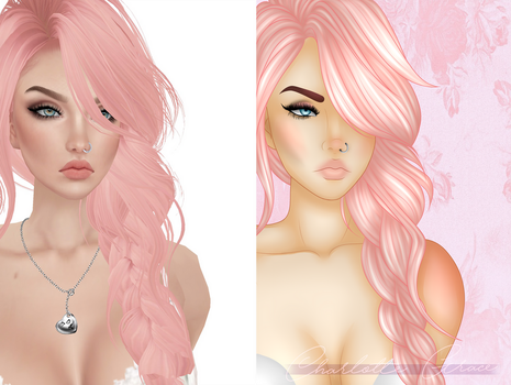 IMVU Before and After by HizzaBabeh