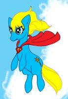 MLP Supermare - The mare of steel! by Koku-chan