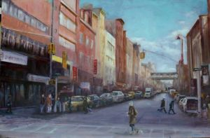 NYC LOWER EAST SIDE by Wulff-Arts