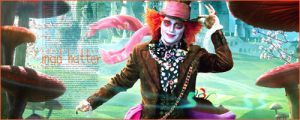 Mad Hatter signature by julianagc