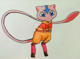 Aang-Mew by AlPendragon