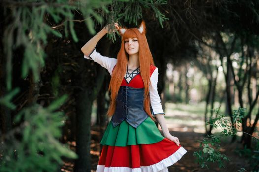 Spice and wolf by Melissa-Lissova