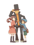 We love Layton by ChocoHal