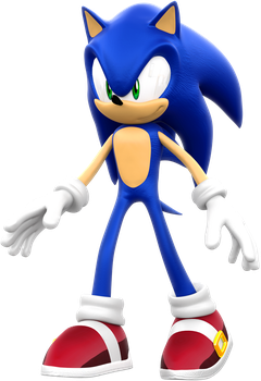 Sonic 2006 - Sonic the Hedgehog Standing by ModernLixes
