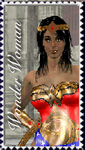 Wonder Woman Stamp by TrekkieGal