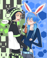 Bite It - Colour - DRAMAtical Murder by forkandspoon00