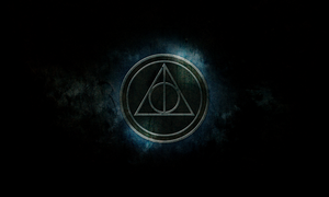 Harry Potter Deathly Hallows Wallpaper by MrStonesley