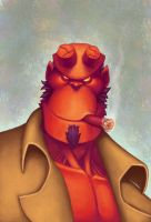 hellboy by thurZ