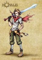 Novalis: Male Character by isaiahjordan