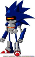 Mecha Sonic by Advert-man