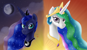 Sunrise Sunset -Ponyfortress Group Icon- by Inurantchan