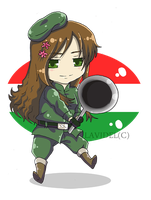 ++ Chibi Hungary ++ by LaVidel