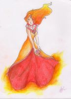 Flame princess by TheWallFlower01