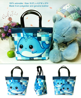 Kawaii narwhal bucket bag by tho-be