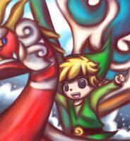 LoZ: The Great Sea by SpiritSlayer