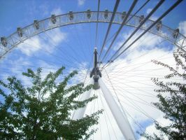 London eye by Stephue