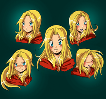 Audria expressions by Qvi