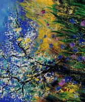 appletrees in blossom 5690 by pledent
