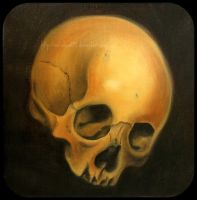 Oil Skull 2 by Metalhead99