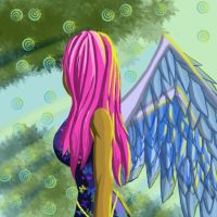 Glass angel by Heartless199