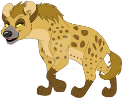 Hyena for Wolf-Chalk by Lil-Cheetah